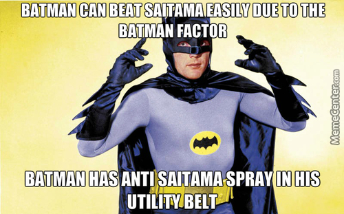 Batman Factor > One Punch Factor