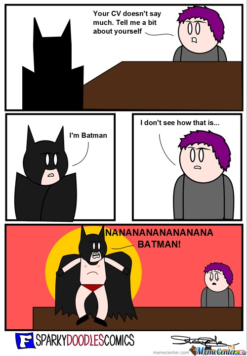 Batman Job Interview