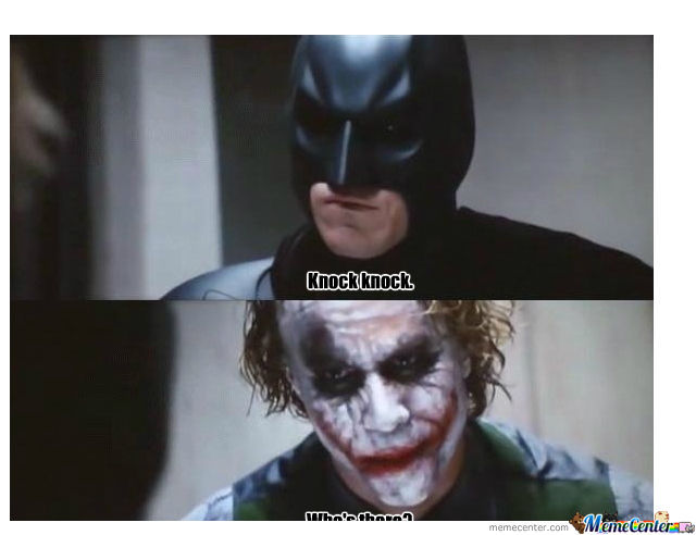 Batman Jokes The Joker