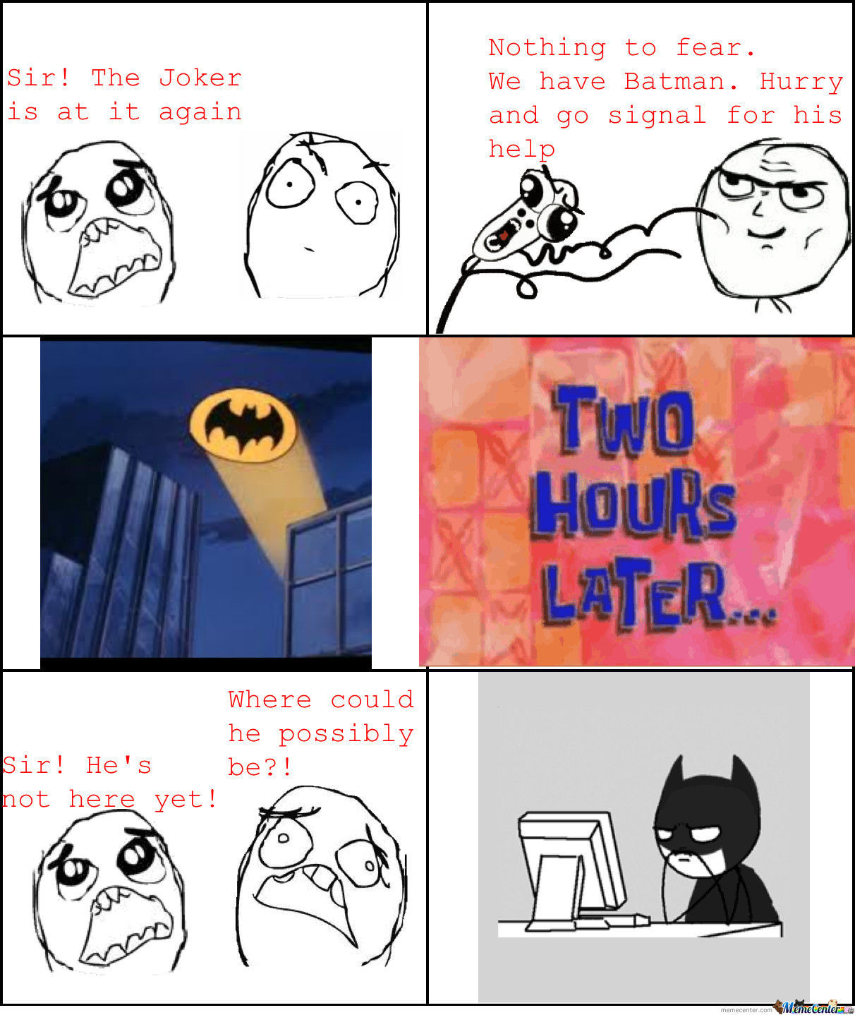 Batman Likes The Interwebs Too