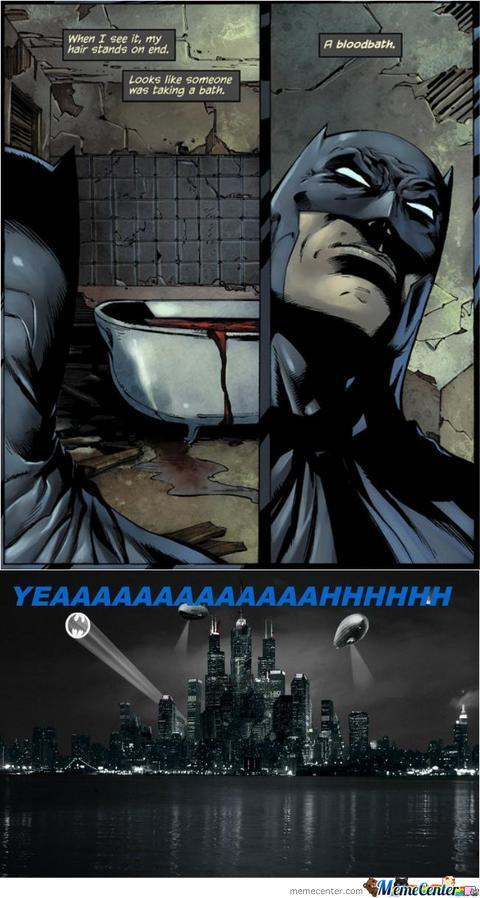 Batman Saying Puns