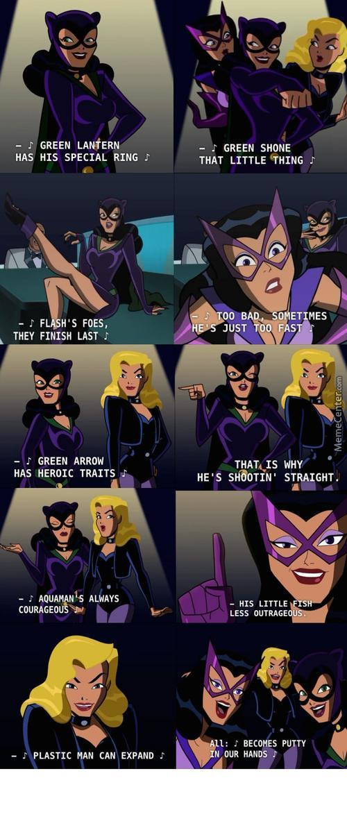 Batman The Brave And The Bold Is A Silly Dc Kid Show, Right....