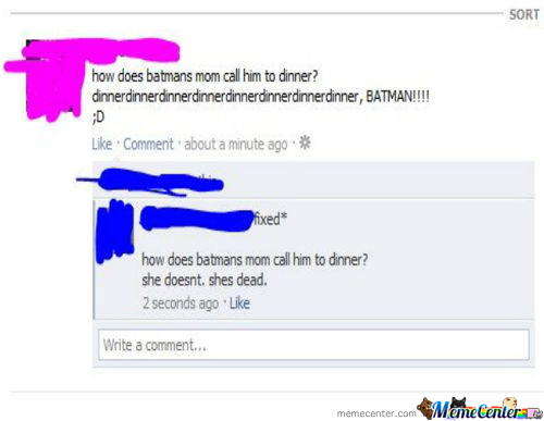 Batman's Mom