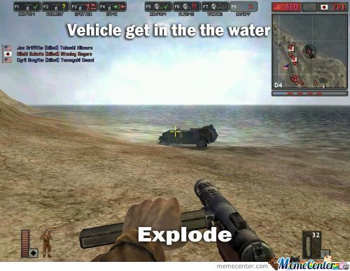 Battlefield 1942 Logic:vehicle