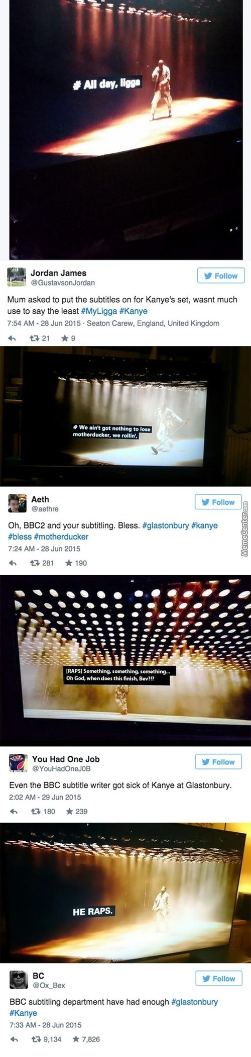 Bbc, You Made My Day