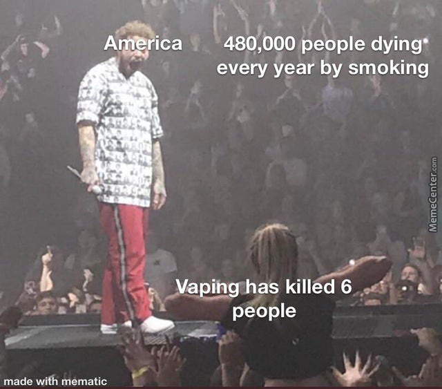 Be A Man, Don't Vape