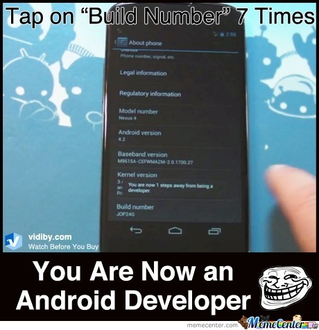 Be An Android Developer In 10 Seconds