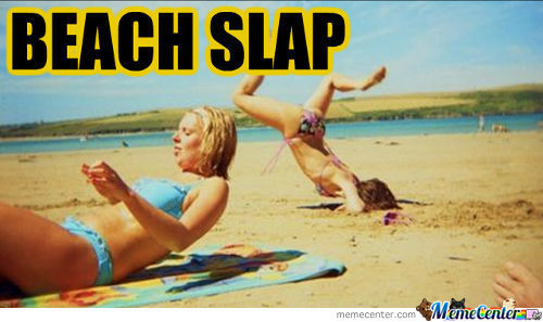 beach slap_c_1560159 beach memes best collection of funny beach pictures