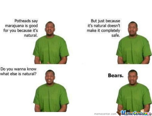 Bears Are All Natural