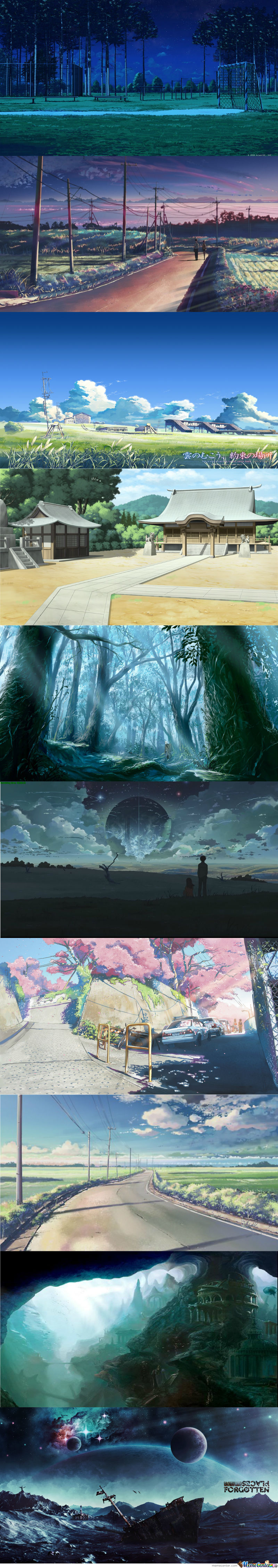 Beautiful Anime Places