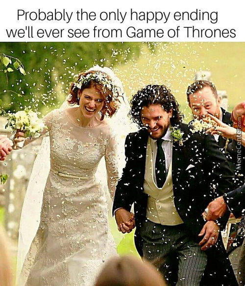 Because A Deadly G.o.t Wedding Is Just Too Mainstream