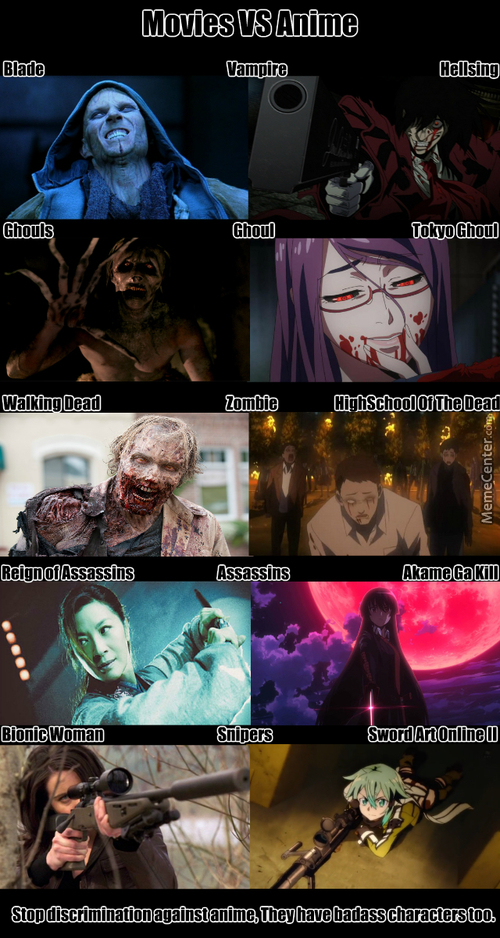 Because Anime Can Also Make Things Badass