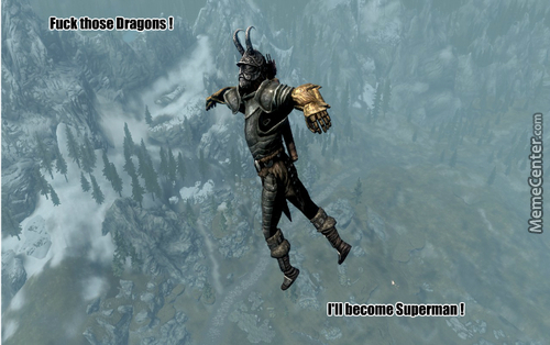 Because Being Dovahkiin Is Too Mainstream...