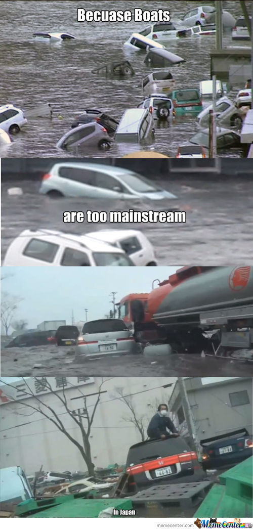 Because Boats Are Too Mainstream