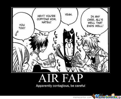Because Fapping Is So Mainstream..
