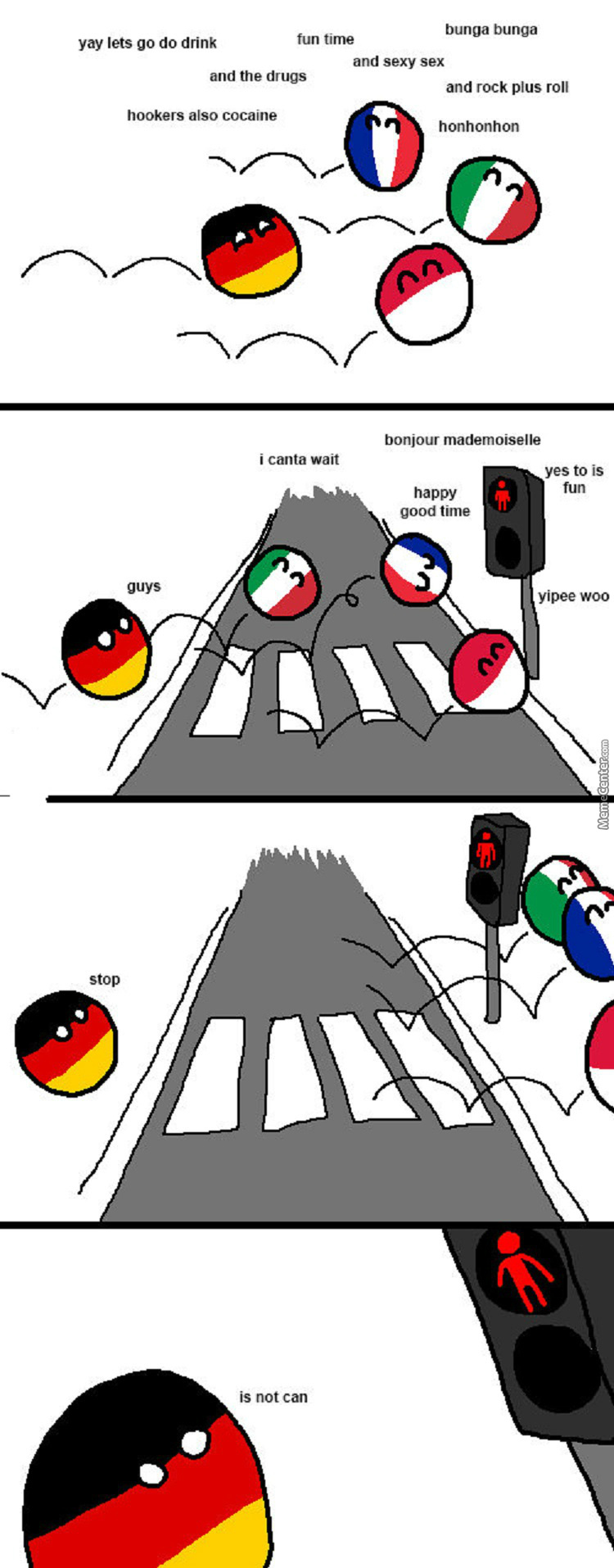 Because Germany