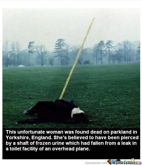 Because Getting Struck By A Lightning Is To Mainstream.