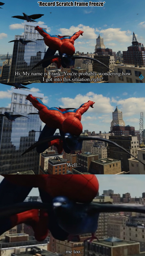 Because He Pooped On Peter's Suit.