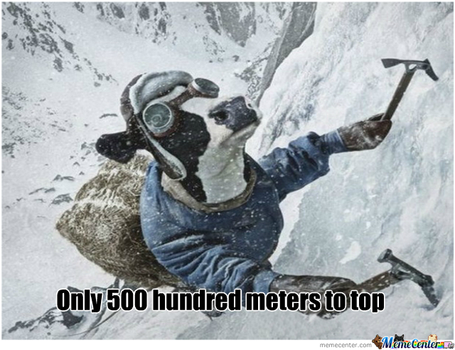 Because Humans Climbing Are Too Mainstream