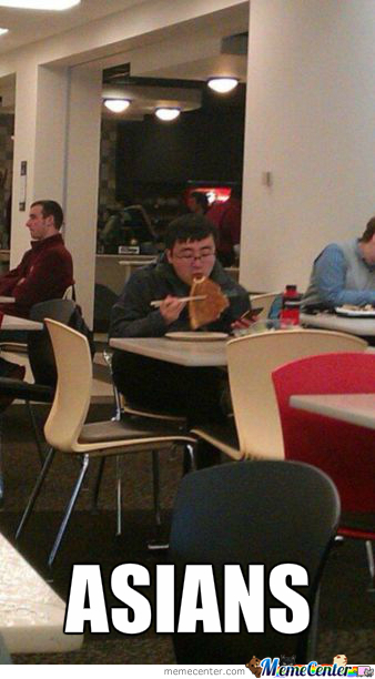 Because It's Too Mainstream Eating Pizza With Hands