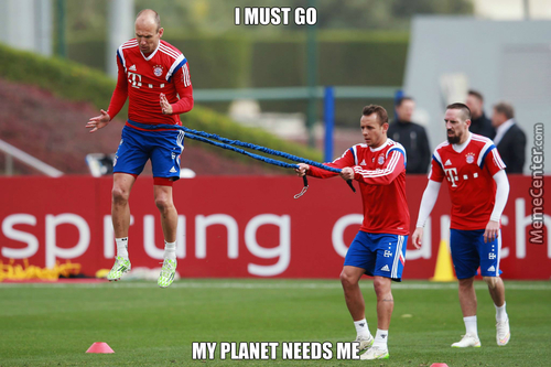 Because Robben Is From Another Planet <3