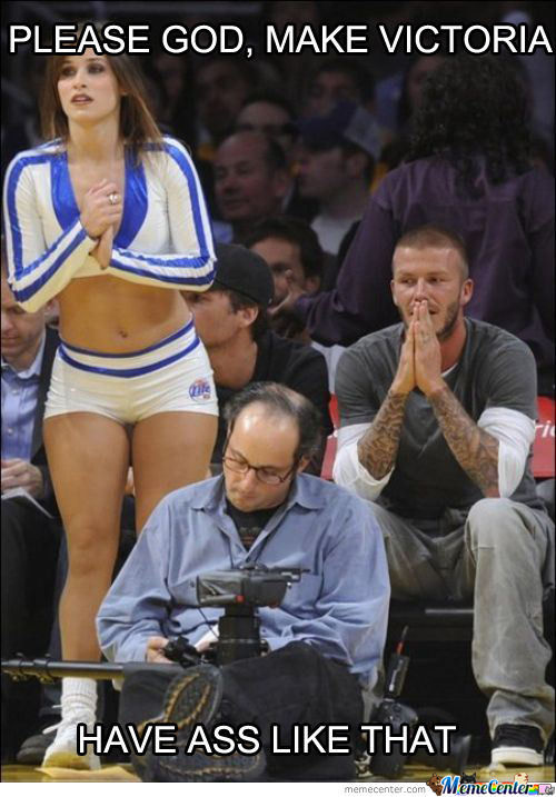 Beckham Praying
