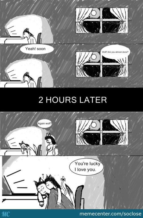 Bed Time (Usually With To Much Memecenter :d)