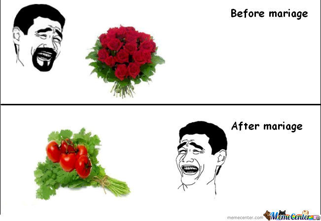 Before And After Marriage