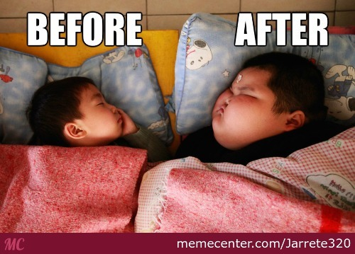 Before And After... Nutella