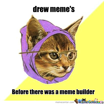 Before There Was A Meme Builder