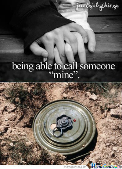 Being Able To Call Someone Mine.