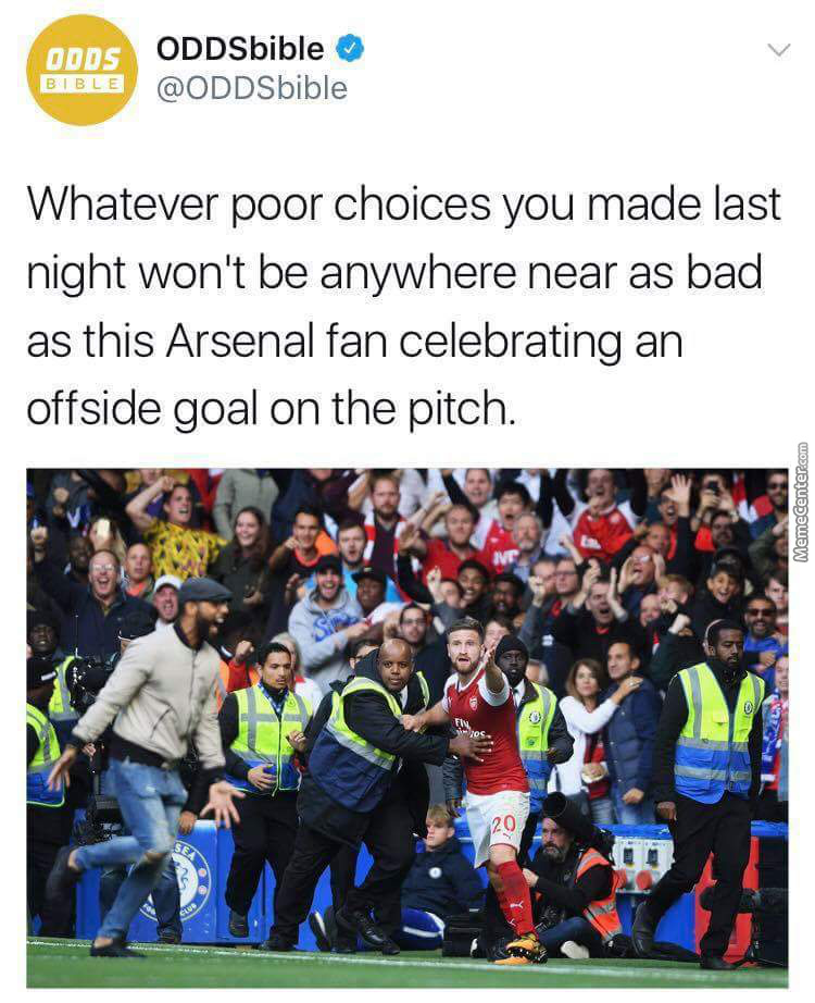 Being Arsenal Fan Is Bad Enough