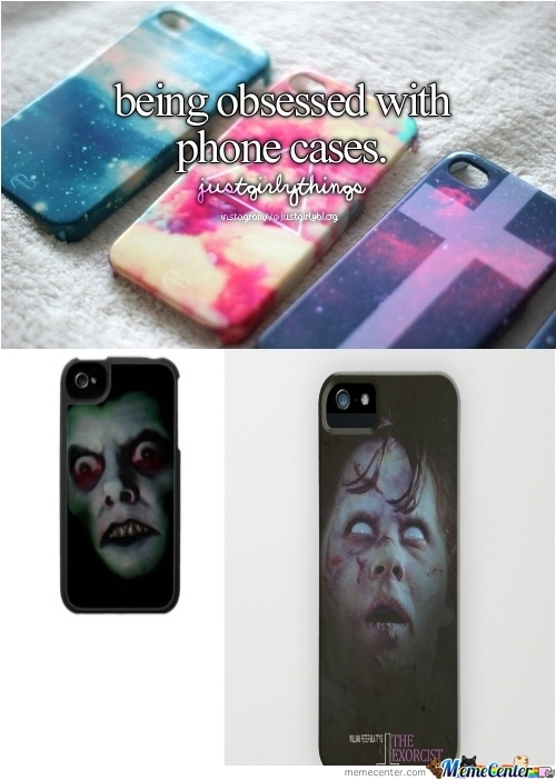Being Obsessed With Phone Cases :)