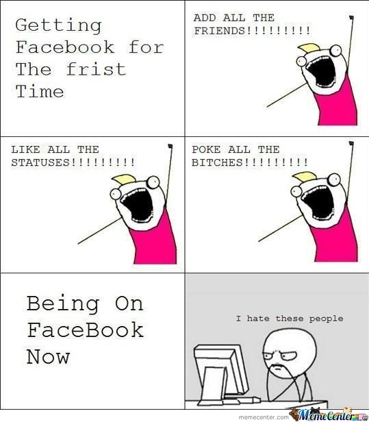 Being On Facebook Now
