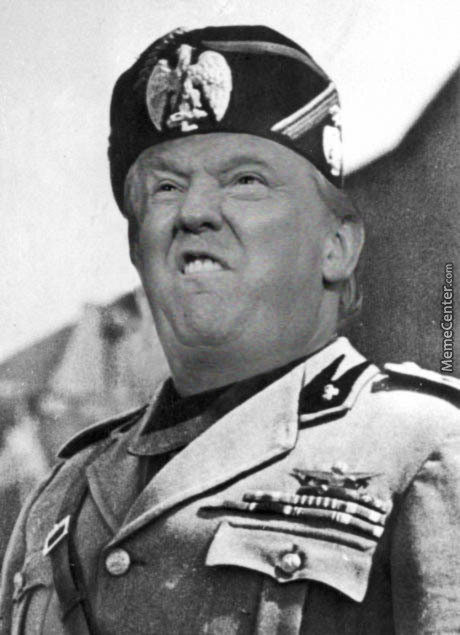 Benito Trump by stacybenedict - Meme Center