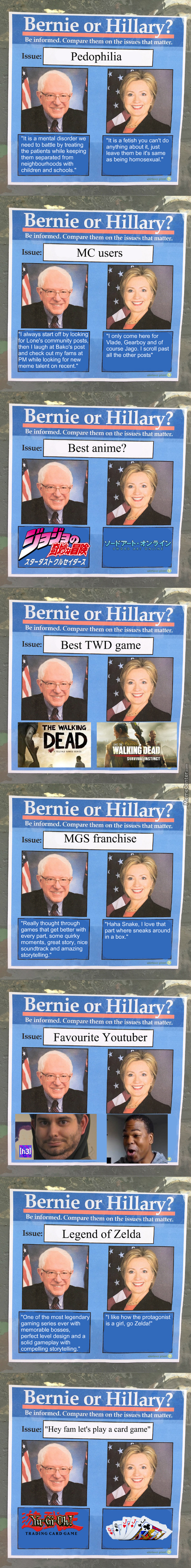 Bernie Knows The Heart Of The Cards. What's Your Secret Weapon Hillary?