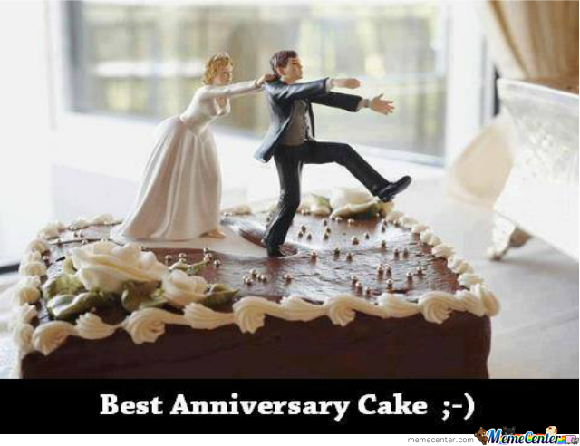 wedding cake messages funny best anniversary cake by antonykalugerov5 meme center 23246