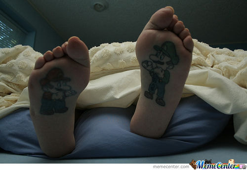 Best Foot Tattoo Ever!