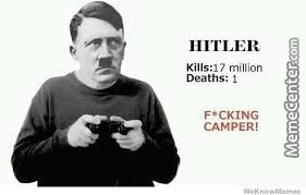 Best Gamer Ever: Hitler