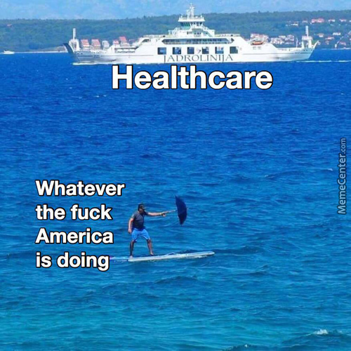 Best Healthcare In The World (For The Rich). Poor People Can Just Die