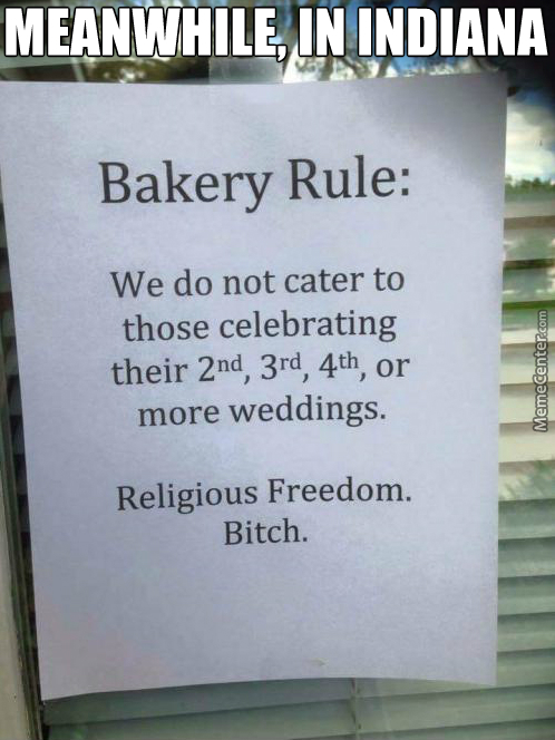 "Best Response I'Ve Seen To Indiana'S ""religious Freedom Act"""