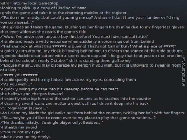 best steam review ever by cooltwinky1 meme center