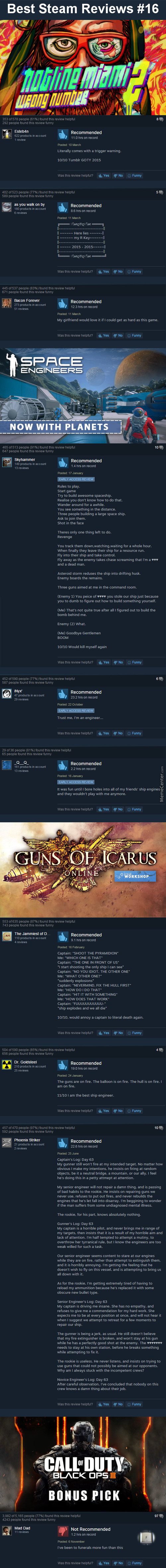 Best Steam Reviews #16 - Pay Respects