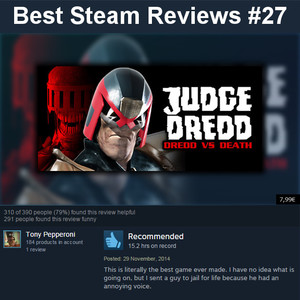 best steam reviews 27 i am the law by 1nvader meme center