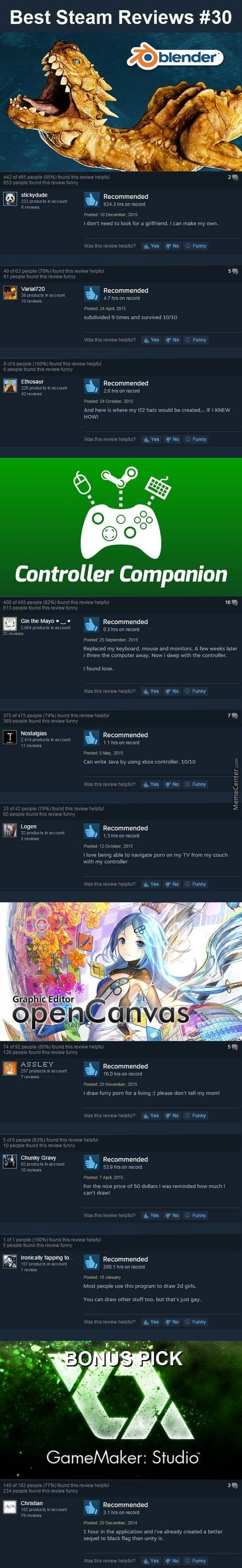 Best Steam Reviews #30 - Will These Blend?