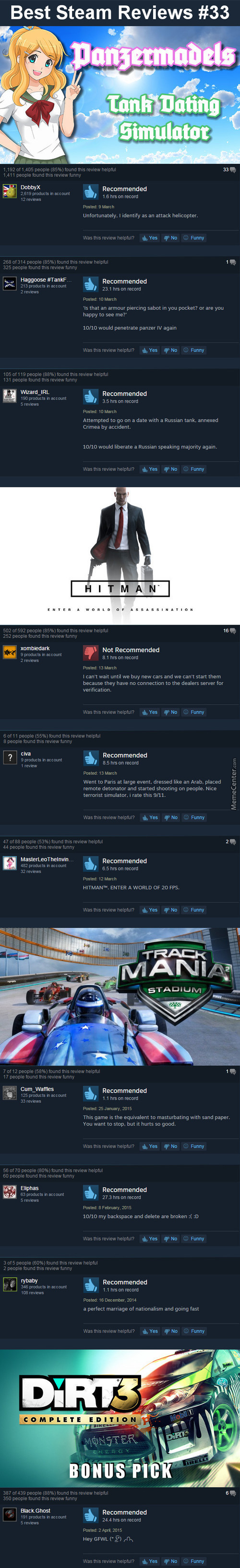 Best Steam Reviews #33 - Bottom Text