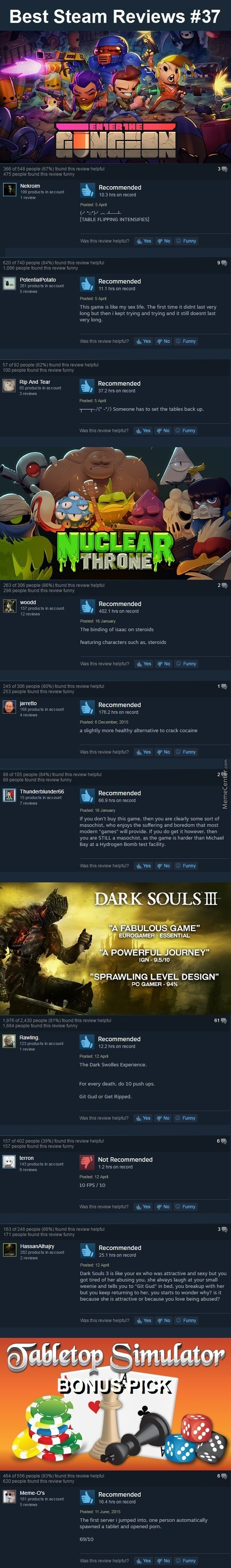 Best Steam Reviews #37 - Still Waiting For My New Motherboard ;_;