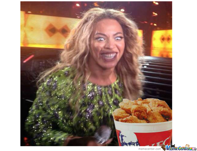 Beyonce Can't Resist