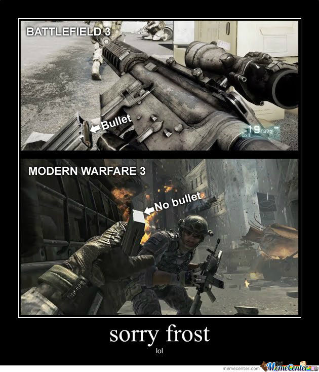 Bf3 Win And Mw3 Fail