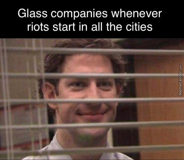 Big Glass Started The Riots